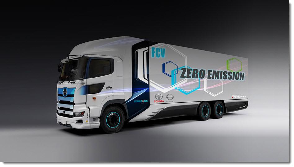 Toyota Hino Hydrogen Truck