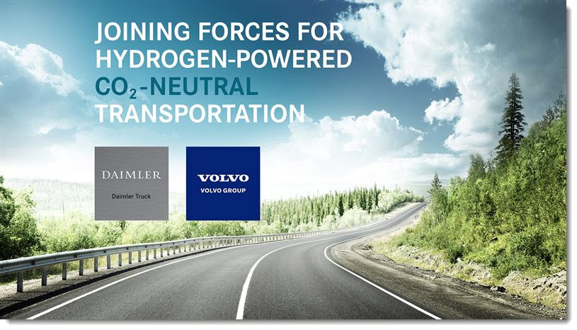 Volvo Daimler on Fuel Cells