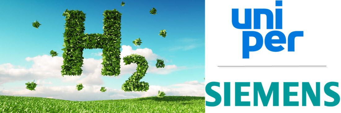 hydrogen green power Uniper Siemens