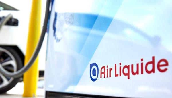 Fuel cells works, hydrogen, Air Liquide, banner, fuel cells