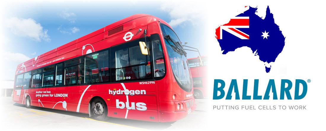 Ballard Hydrogen Buses for Australia