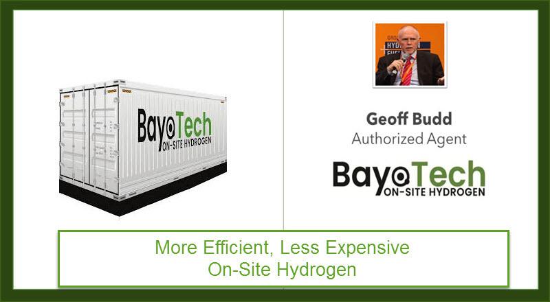 BayoTech Authorized Agent Geoff Budd