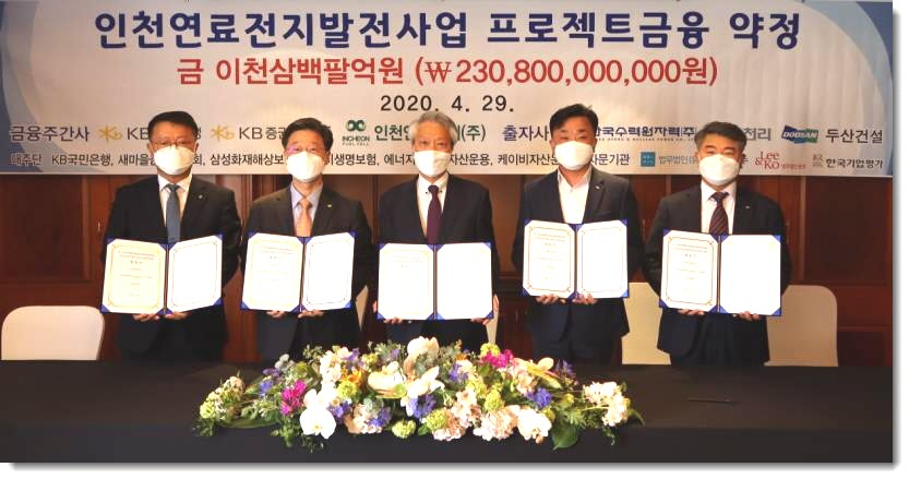 Incheon Fuel Cell Agreement