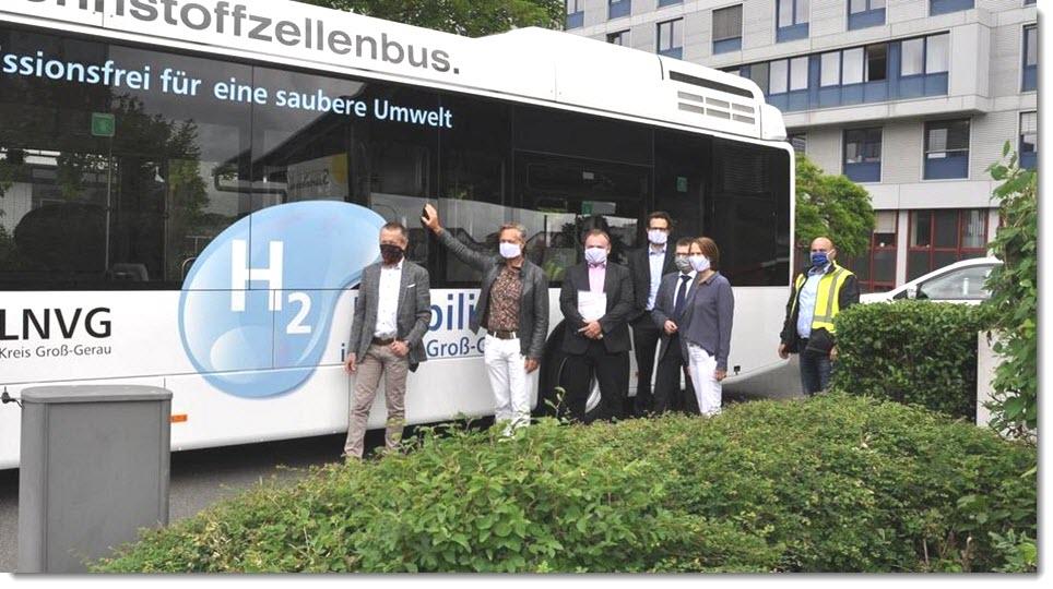 Kreis Gros Gereau Hydrogen Bus