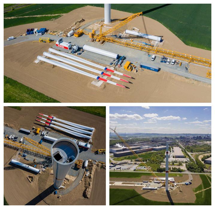 Salzgitter windpark work begins Insert