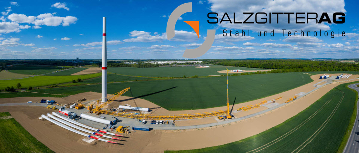 Salzgitter windpark work begins main