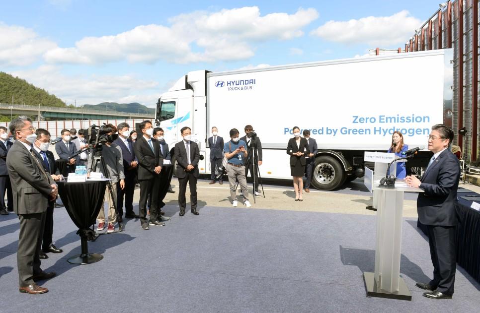 South Korea Hydrogen Fuel Cell Trucks Projectr
