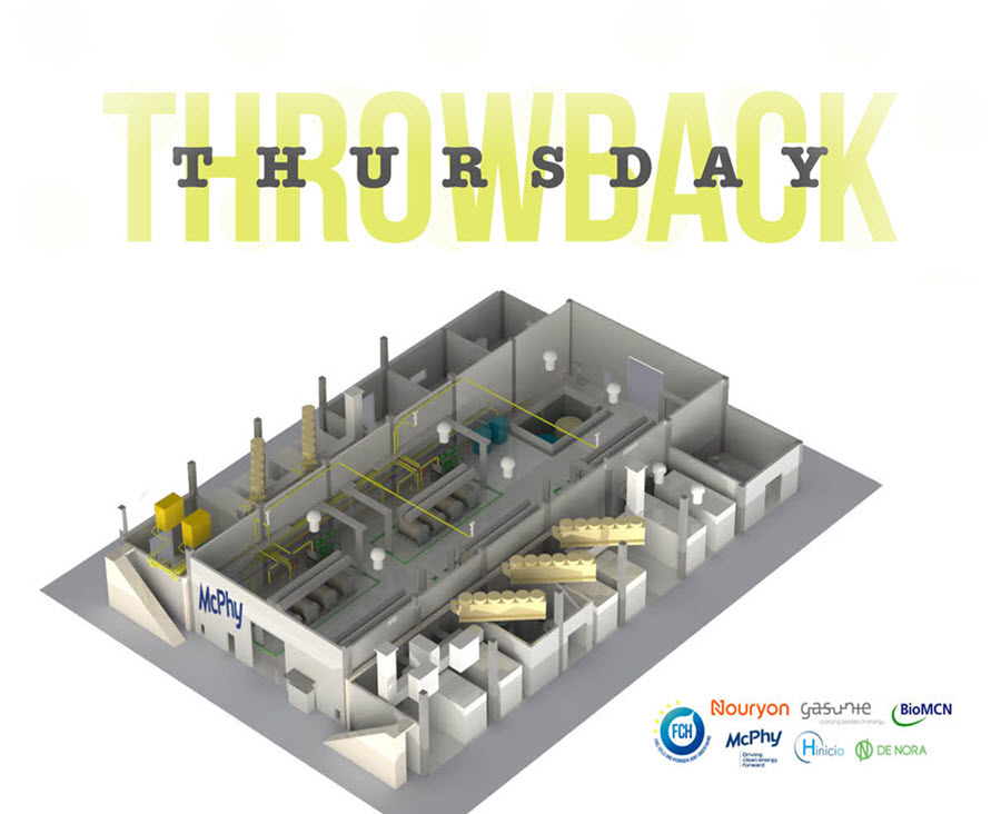 Throwback Thursday Hydrogen Projects Netherlands McPhy