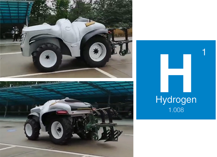 China Launches First Hydrogen Powered 5G Smart Tractor