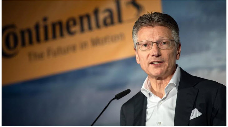 Continental Boss for Fuel Cells