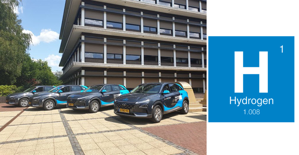 Drenthe Hydrogen Cars for Employees Main