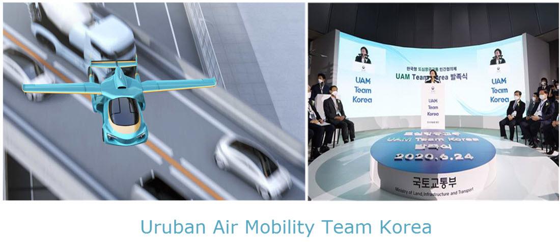 Drone Taxis UAM Korea
