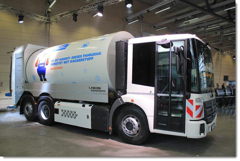 Faun Hydrogen Truck