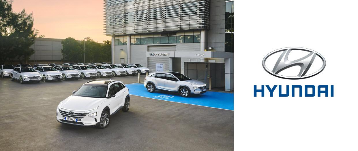 Hyundai Australia Fleet of Nexo Vehicles Main