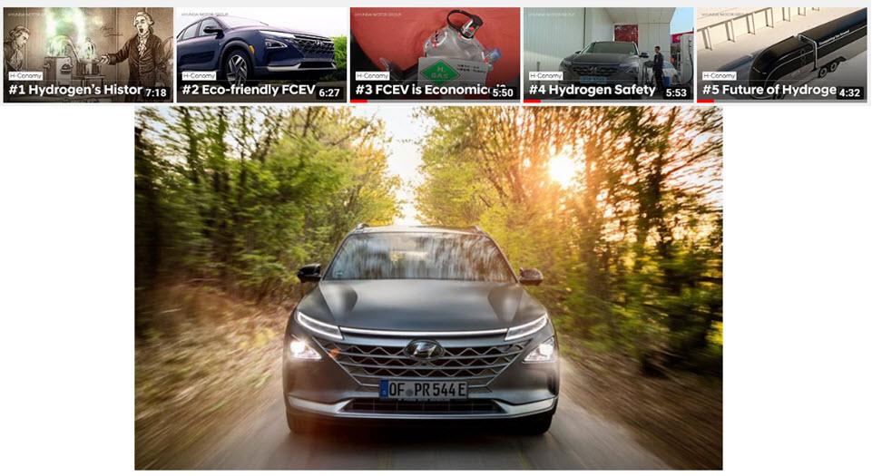 Hyundai Fuel Cell Videos