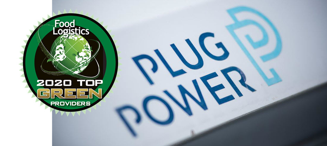 Plug Power Food Logistics Award 2020