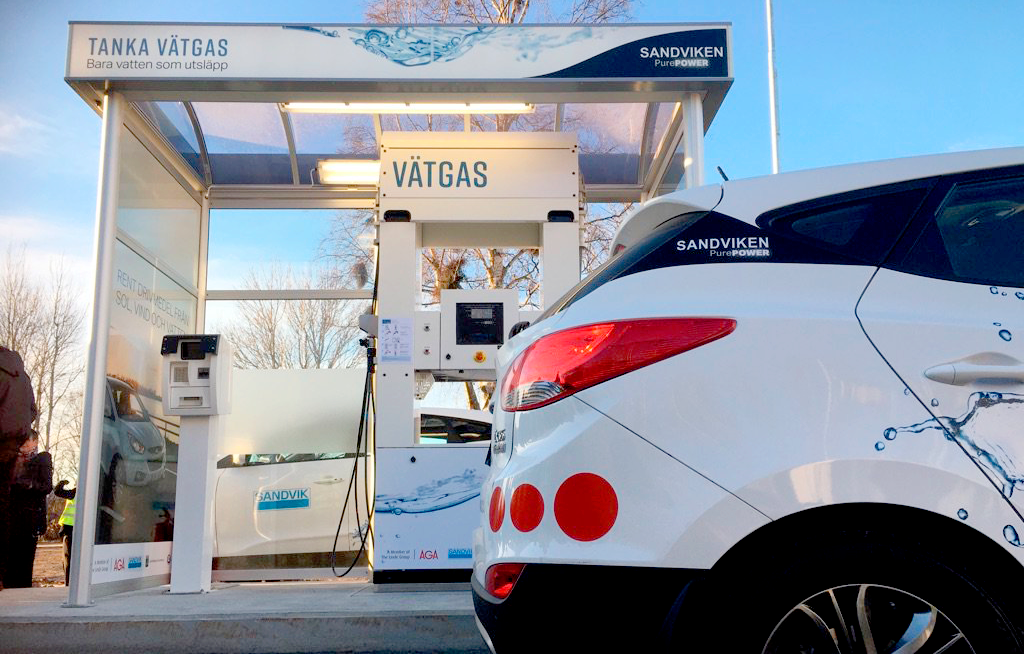 Swedens fourth hydrogen refueling station inaugurated in Sandviken1