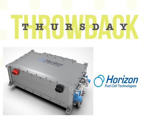 Throwback Thursday Horizon Fuel Cells