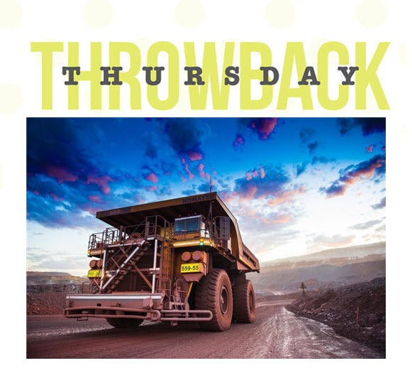 Throwback Thursday Mining Truck