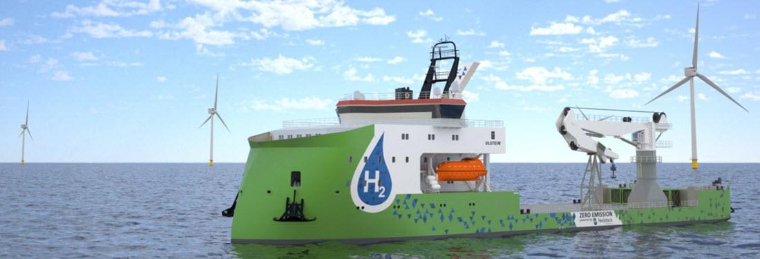 ULSTEIN Hydrogen Boat Main