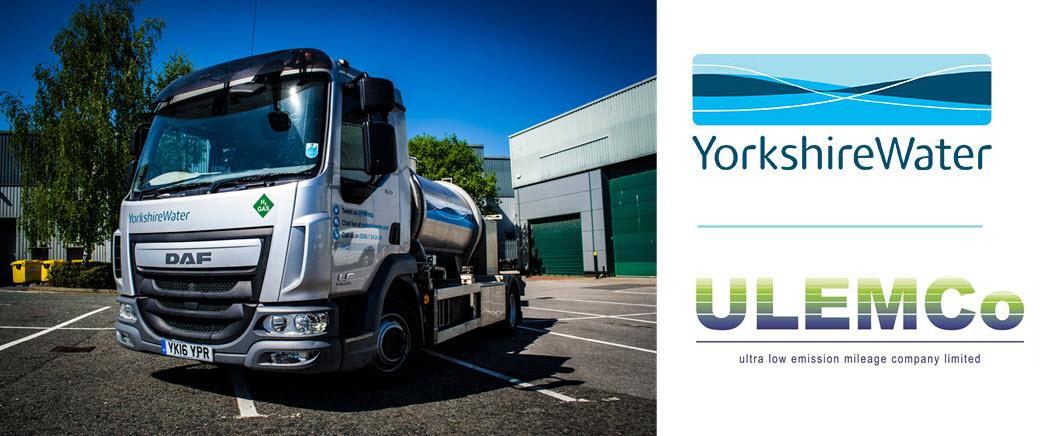 UlemCo Yorkshire Water Hydrogen Truck