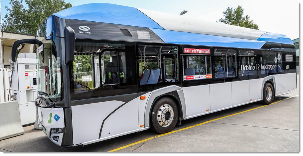 Wiener Linien Hydrogen Bus