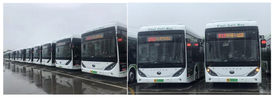 Zhengzhou Replaces all its Buses with Hydrogen Fuel Cell Buses Main