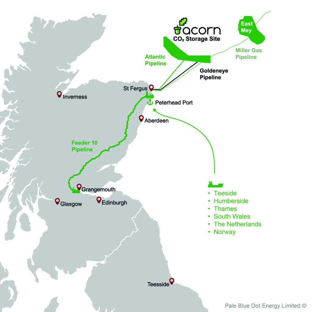 acorn green map