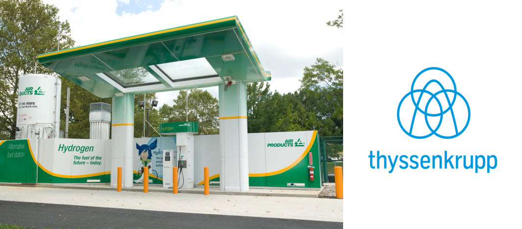 Air products Hydrogen Station thyssenkrupp