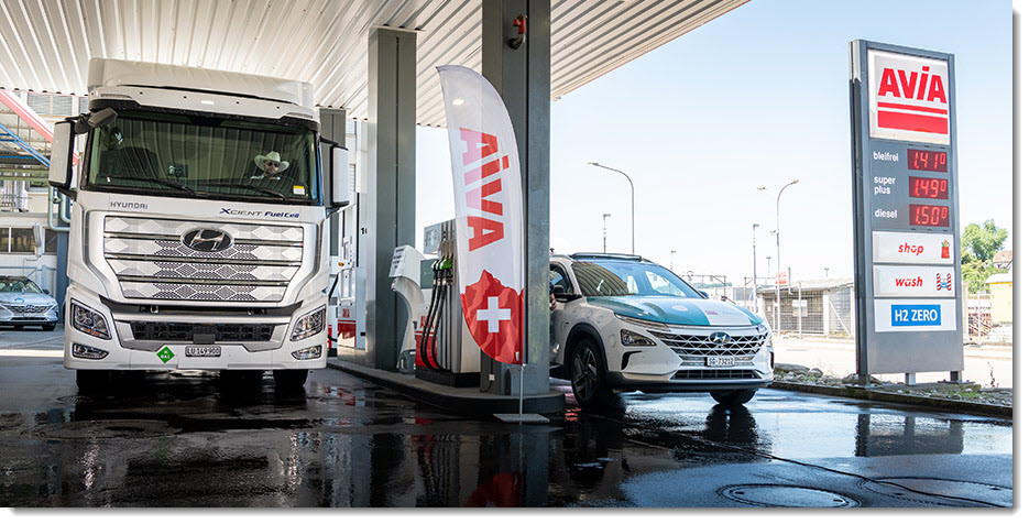 fuelcellsworks, Avia will be Opening a Hydrogen Station in RÜMLANG in 2021