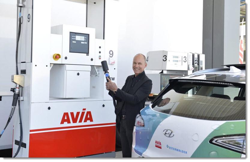 Bertrandt Launches Hydrogen Mobility in Switzerland