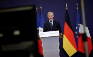 Bruno Le Maire Reuters Photo