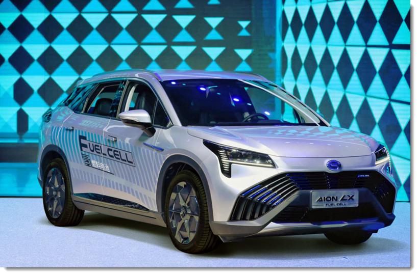 GAC Aion LX Hydrogen Car
