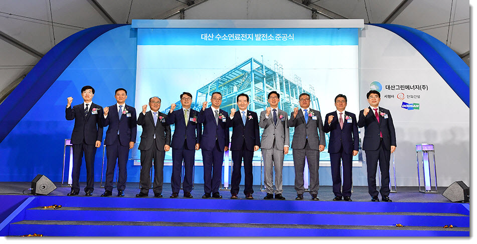 Hanwha Energy Hydrogen Plant Completions