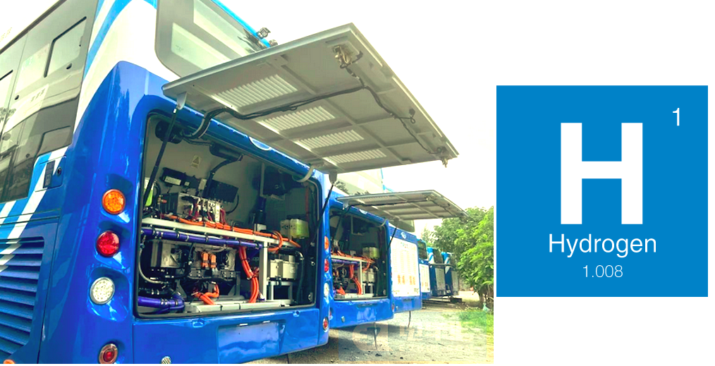Hubei Xiangyang Fuel Cell Buses