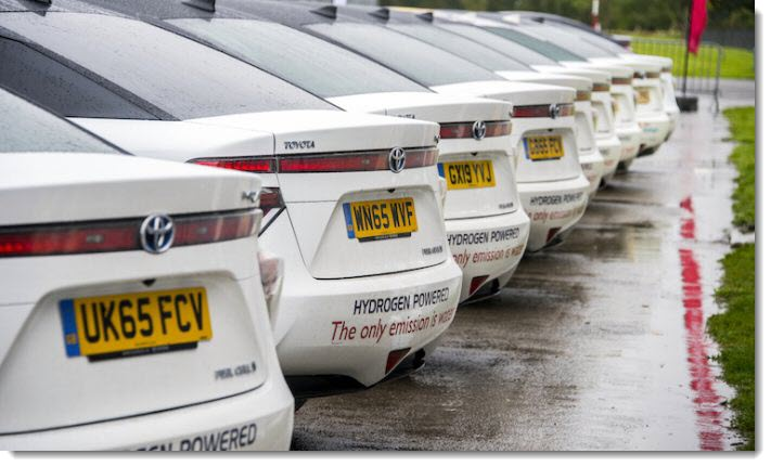 Europe Largest Fuel Cell Car Fleet Of 30 Toyota Mirai S Available For Lease Fuelcellsworks