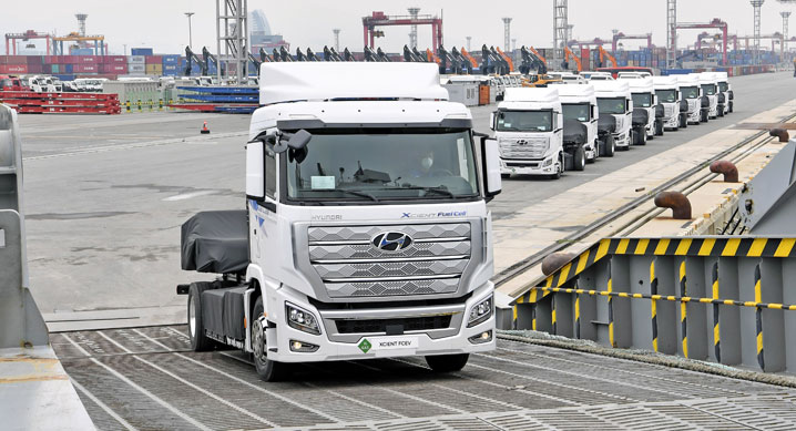 Hyundai Mass Produce Fuel Cell Trucks 1