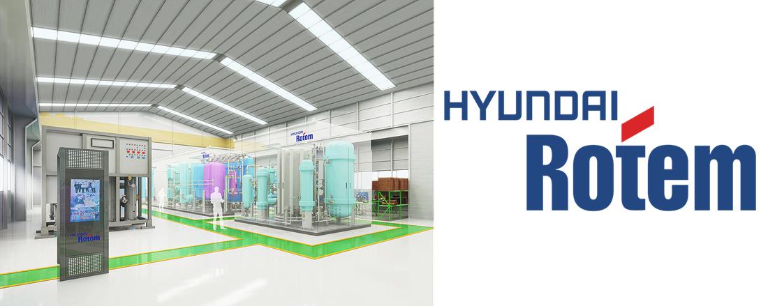 Hyundai Rotem Hydrogen Plant Model
