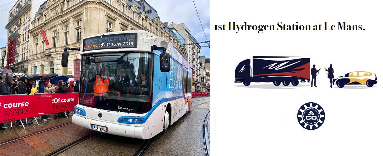 Le Mans Hydrogen Bus Station