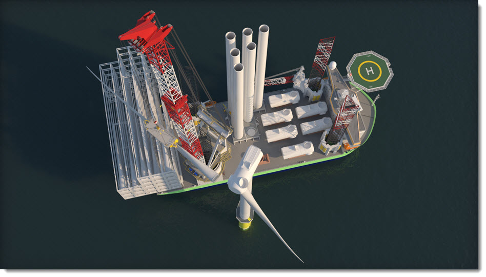 OHT Orders Two Wind Turbine Installation Vessels at CMHI