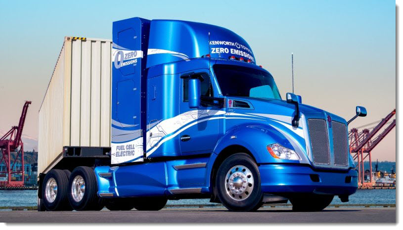 Paccar Hydrogen Strategy