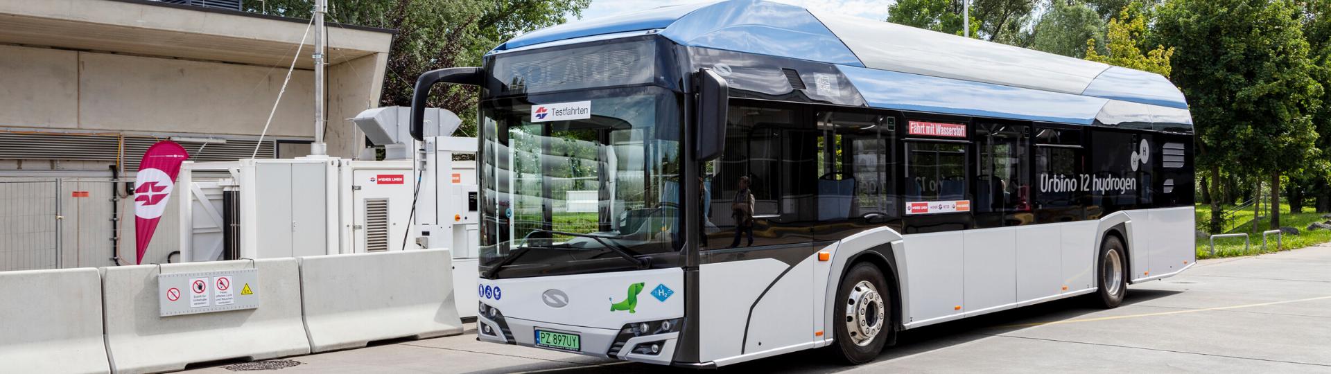 Solaris Vienna Testing Hydrogen Bus Main
