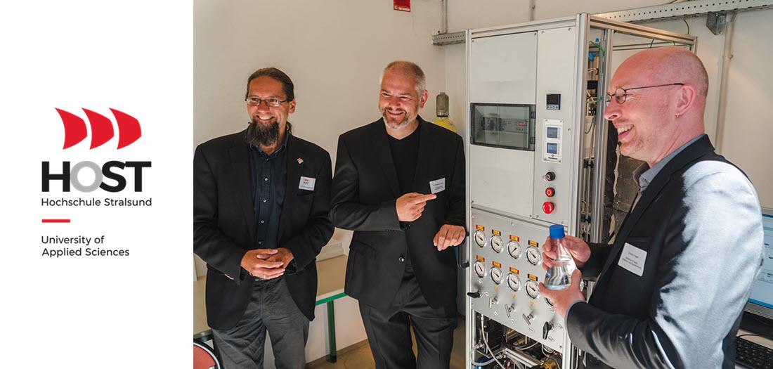 Stralsund University Methanol to Hydrogen