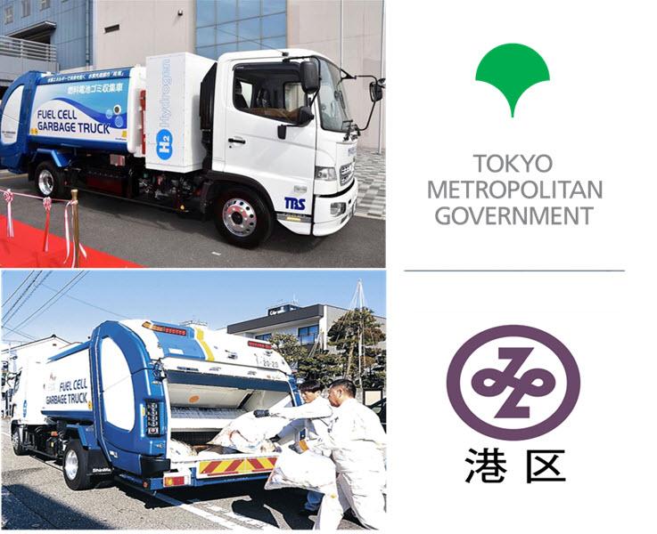 Tokyo Hydrogen Garbage Truck Main