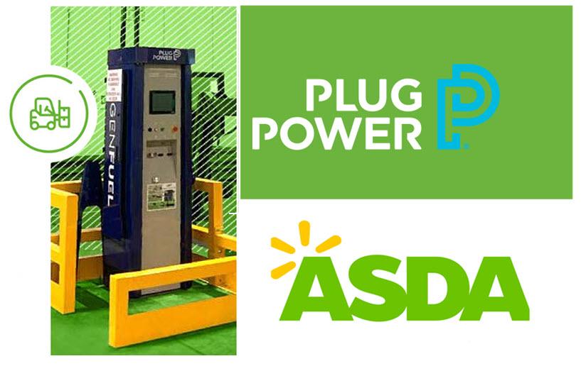 ASDA Logistics Services Plug Power