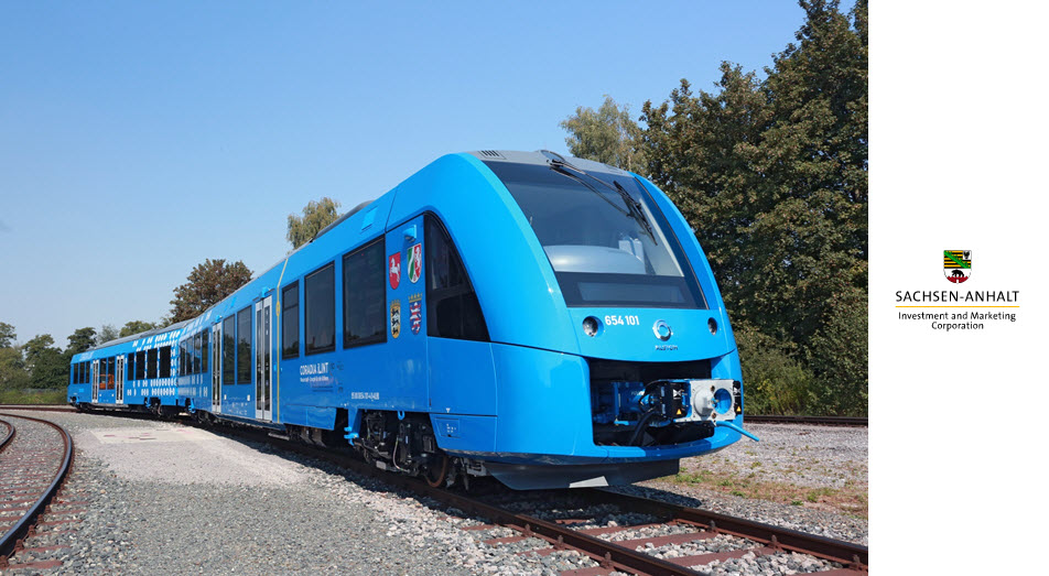 Anhalt Fuel Cell Train Coming