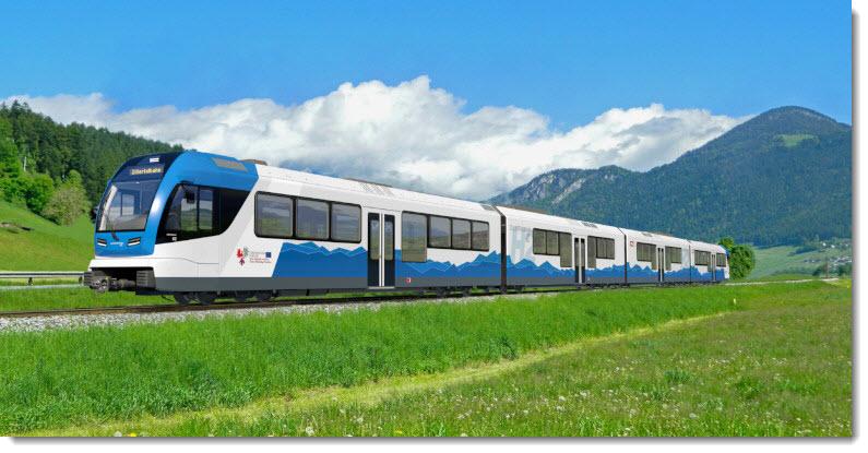Austria Hydrogen Train