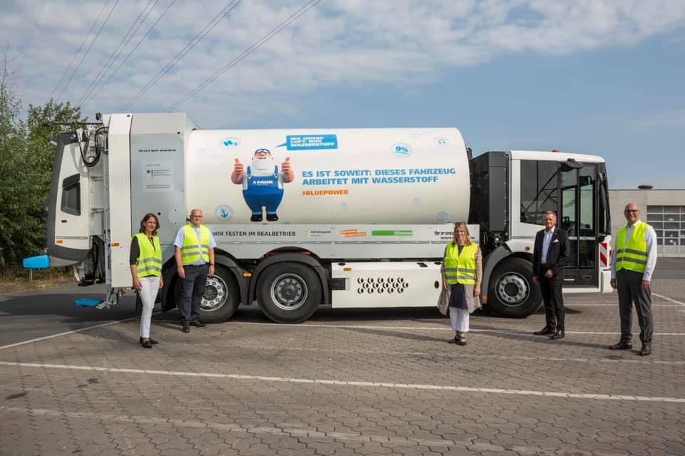 Bremen Hydrogen Garbage Trucks Testing