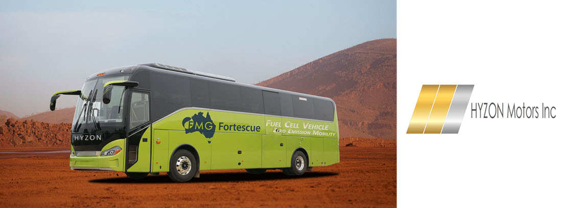Fortescue and Hyzon Buses