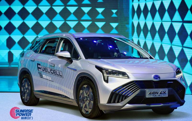 GAC Aion LX Hydrogen Car Powered by Sunrise
